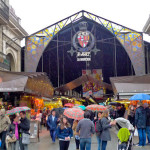 The Boqueria market in the Rambla