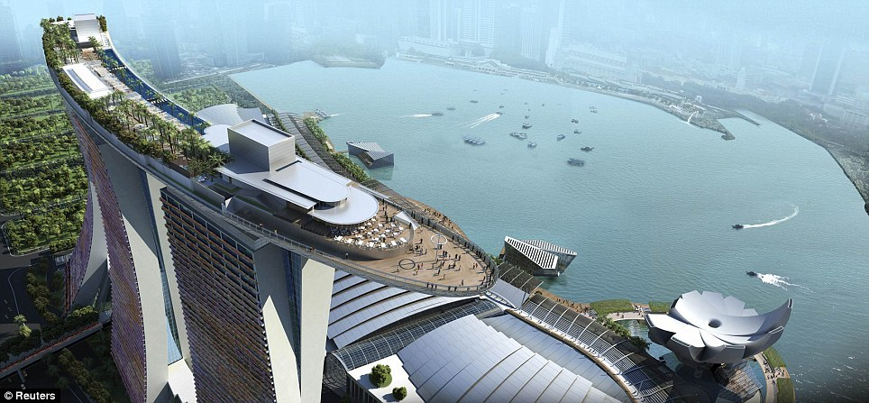 Marina Bay Sands Resort Microtravelling