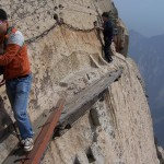 Hua Shan – the dangerous path in the world