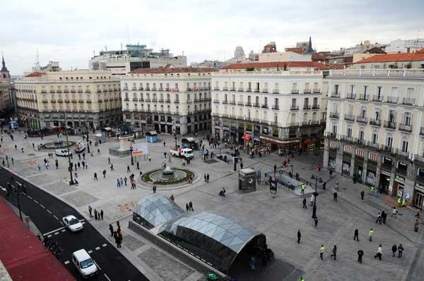 Puerta del sol microtravelling for Puerta del so