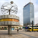 Alexanderplatz and World Clock