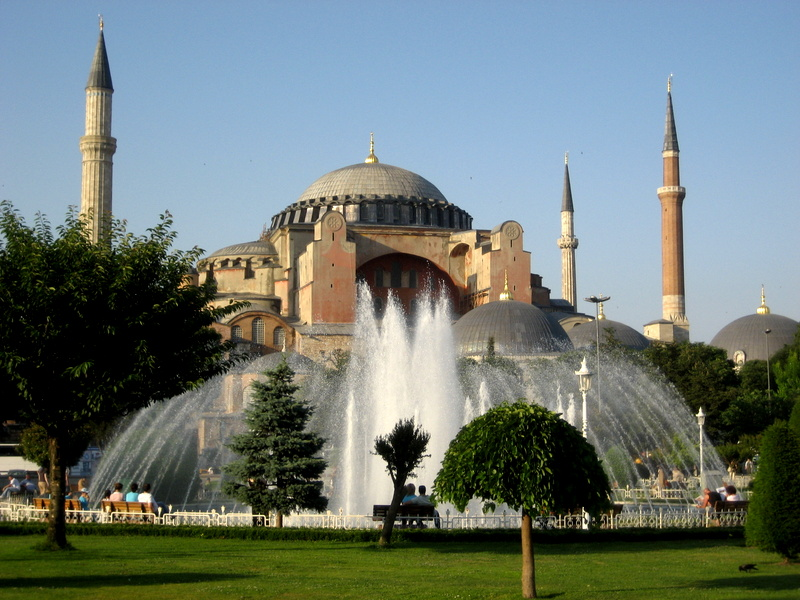The Aya Sofya Mosque  MicroTravelling