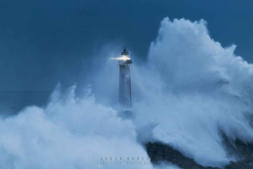 Mouro island (built in 1860) Spain