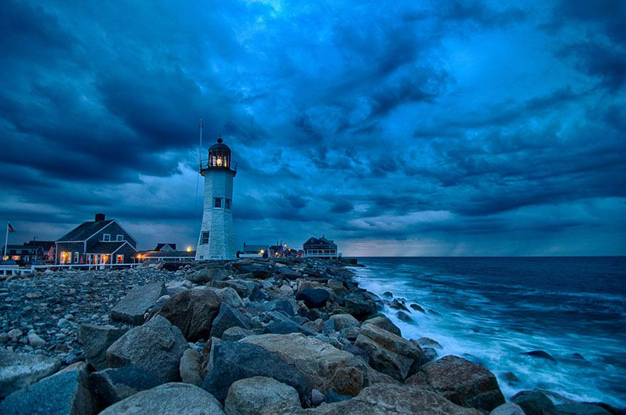 Old Scituate (built in 1810) Massachussetts USA