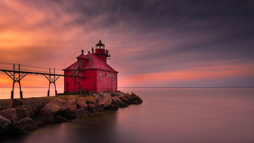 Sturgeon bay Wisconsin USA