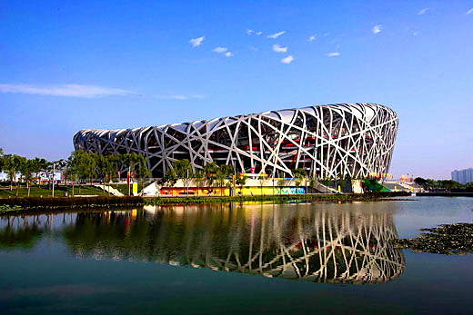 National stadium bird 39 s nest microtravelling for Nest bird stadium