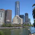 Eureka Tower and State Library of Victoria