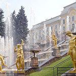 The complex of Peterhof