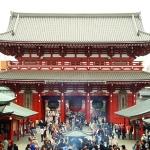 The Senso-ji Temple (Asakusa Kannon)