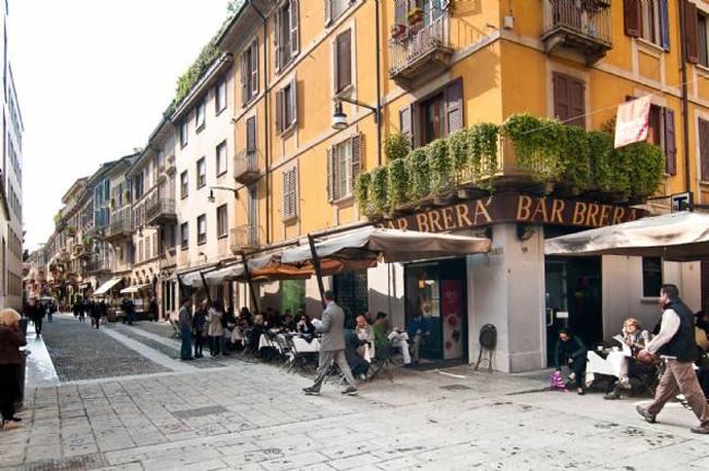 Brera microtravelling for Brera district