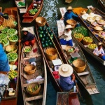 Floating Market of Damnoen Saduak