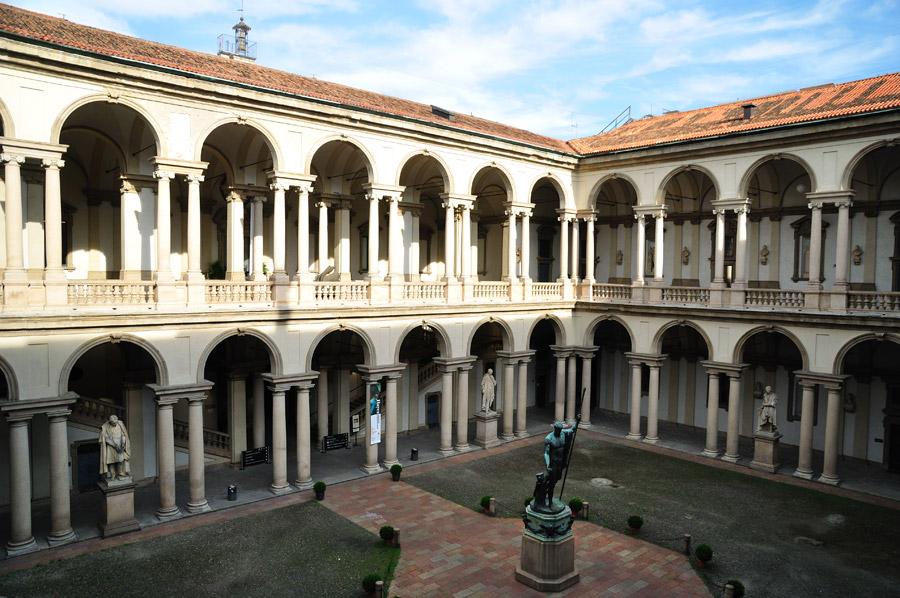 the pinacoteca di brera microtravelling