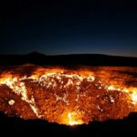 The gate of hell exists and is in the desert of Turkmenistan
